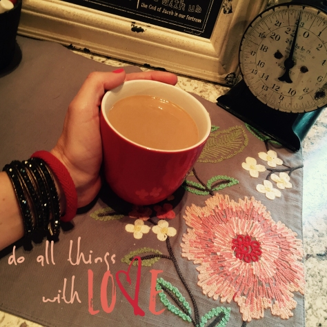 red threads and coffee